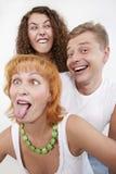 Bizarre family Stock Image