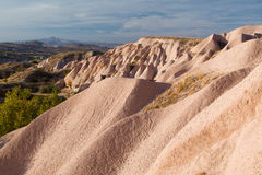 Bizarre geological formations in Cappadocia. Turkey Stock Photography