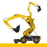 Bizarre machine robot Stock Photos