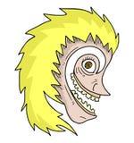 Bizarre mask Stock Photo