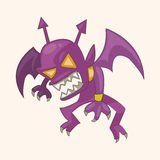 Bizarre monster theme elements Stock Images
