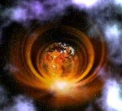 Bizarre planeet Stock Fotografie