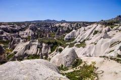 Bizarre rock formations of Cappadocia, Turkey Stock Photography