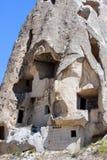 Bizarre rock formations of Cappadocia, Turkey. The bizarre rock formations of Cappadocia, Turkey Stock Image