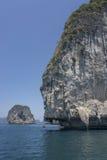 Bizarre rock south Thailand. Travel. Krabi. Bizarre limestone rock south Thailand. Travel. Krabi Stock Image