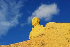 Bizarre rock, Utah Stock Image