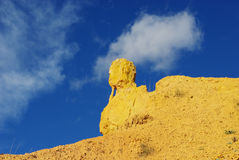 Bizarre rock, Utah. Bizarre rock in Bryce Canyon, Utah Stock Image