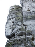 Bizarre Rocks In The Bohemian Paradise Royalty Free Stock Photos