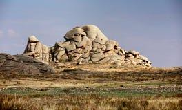 Bizarre rocks in Kazakhstan Stock Images