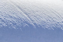 Bizarre shape snow Stock Image