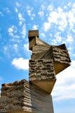 Bizarre stone construction Royalty Free Stock Image