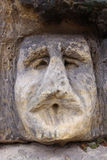 Bizarre Stone Heads - Rock Sculptures Royalty Free Stock Photos