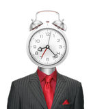 Bizarre Time-Manager Royalty Free Stock Images