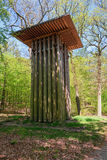 Bizarre and useless folly in The Loo park located in Apeldoorn Stock Photos