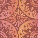 Bizarre  watercolor seamless pattern Stock Image