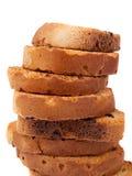 Bizcochos tostados Fotografía de archivo