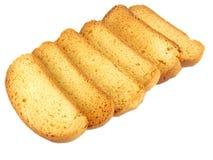 Bizcochos tostados Imagenes de archivo