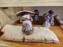 Bizen craft, handmade stock photography