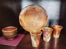 Bizen crafts royalty free stock images