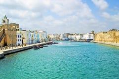 Bizerte,突尼斯堡垒  免版税库存照片