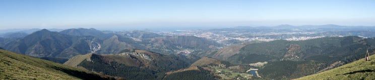 Bizkaia góry Zdjęcia Royalty Free