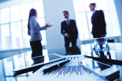 Biznesów gadżety i przedmioty Fotografia Stock