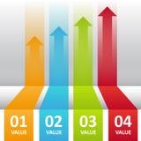 Biznesów kroki Obraz Stock