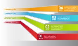 Biznesów kroki Zdjęcia Stock