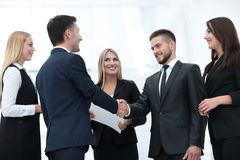 Biznesów partnery biznesowi i Fotografia Stock