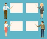 Biznesów trenery również zwrócić corel ilustracji wektora Obrazy Stock