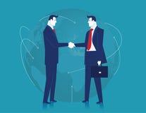 biznes światowy błękitny biznesowego projekta ilustracyjny wszywki ruchu przestrzeni tekst target39_0_ biel pojęcia prowadzenia d Zdjęcie Stock