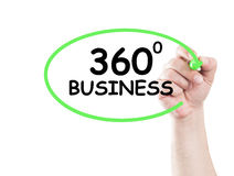 360 biznes Zdjęcie Royalty Free