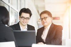 Biznes azjatycka Drużyna Zdjęcia Stock