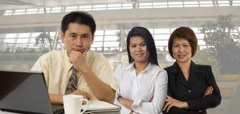biznes azjatykcia drużyna obrazy stock