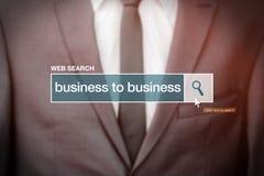 Biznes biznes - sieci rewizi baru glosariuszu termin Obraz Stock