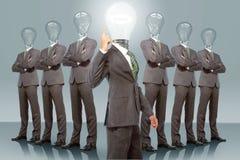 Biznes drużyna z pomysłem ilustracji