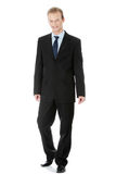 biznes folował długość przystojnego mężczyzna Fotografia Stock