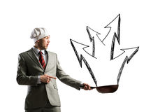 biznes gorący Zdjęcie Royalty Free