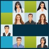 Biznes i biurowi ludzie Zdjęcia Stock