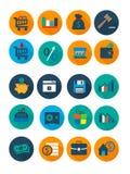 Biznes i finanse ikona Obrazy Stock
