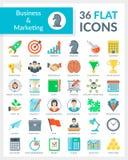Biznes i Marketingowy Vol 1 royalty ilustracja