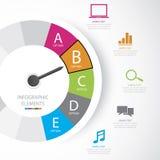 Biznes infographic Obraz Royalty Free