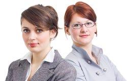 biznes kobiety dwa Zdjęcia Royalty Free