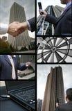 biznes kolaż Obraz Stock