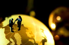 biznes koncepcję globalnego obrazy stock