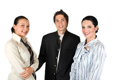 Biznes młoda drużyna obraz stock