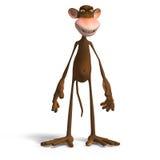biznes małpa ilustracji