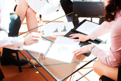 biznes ma biurowych spotkań ludzi Obraz Stock