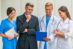 Biznes & medycyna fotografia stock
