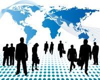 biznes na całym świecie royalty ilustracja